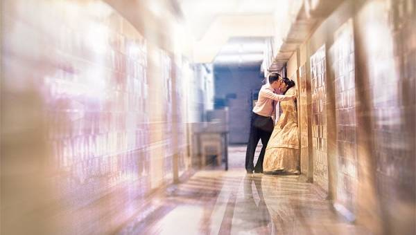Прояви оригинальность при обработке свадебной фотографии!