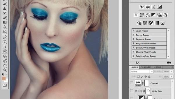 Обработка фото: выбеливаем кожу в Adobe Photoshop
