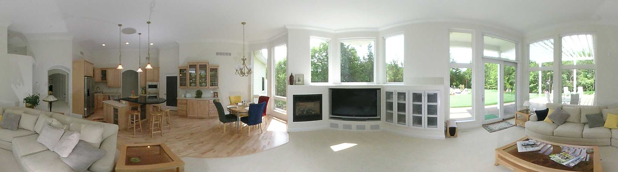 Панорамное фото квартиры