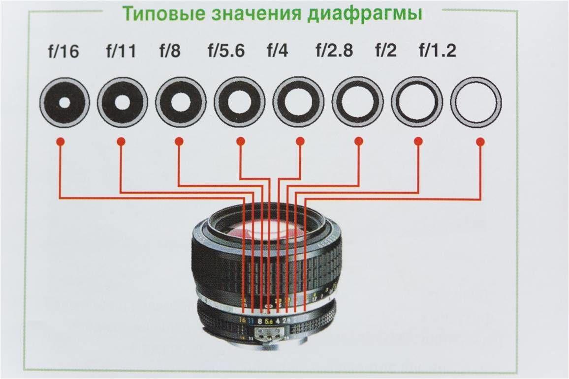 Как подобрать диафрагму для фото