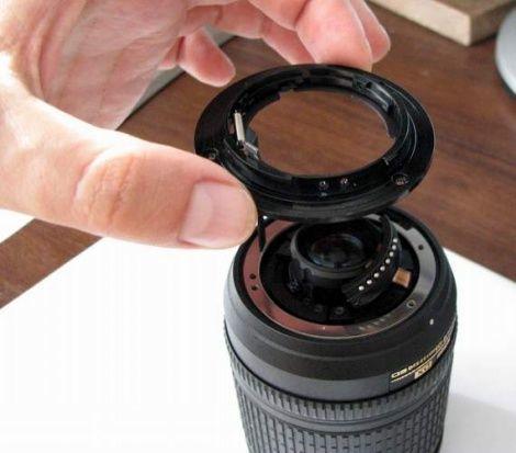 Ремонт объектива Nikon 18-135mm