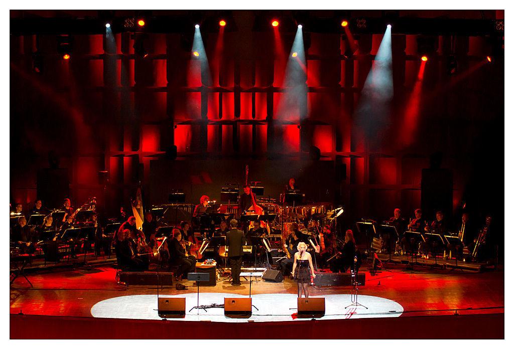 черная фотосъемка концерта советы радуге