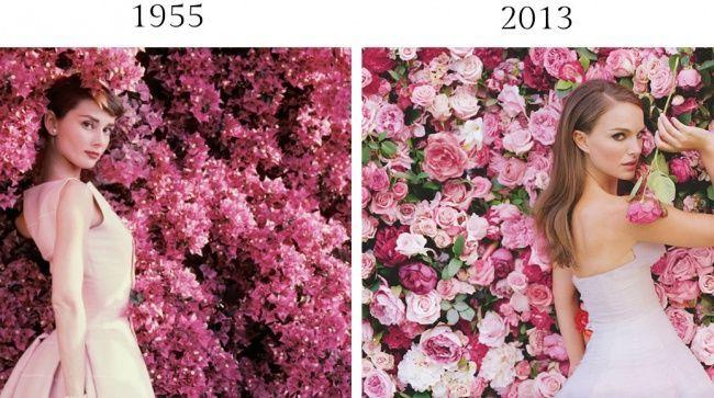 Натали портман с цветами фото