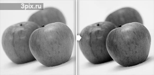Контрастные и несимметричные картинки лавку