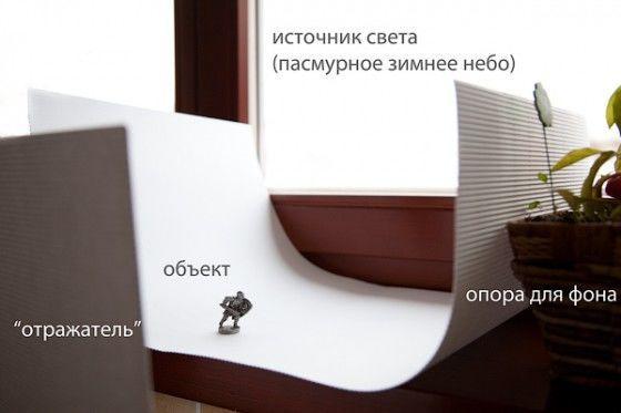 Стол для предметной съёмки своими руками 58