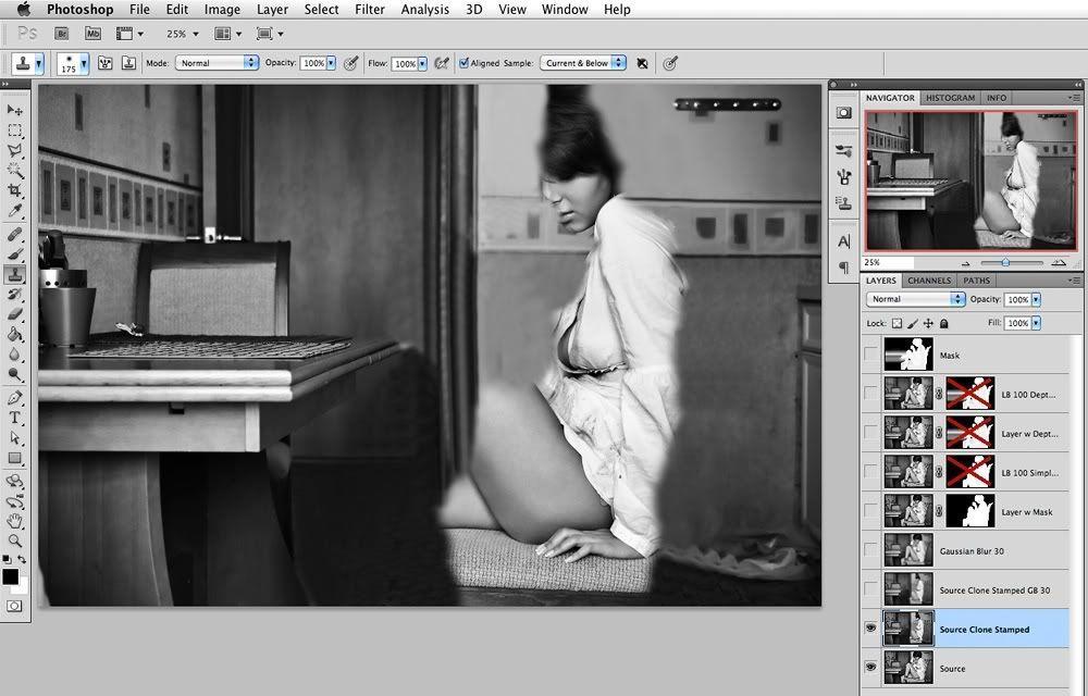 Эффект размытия в фотошопе как сделать