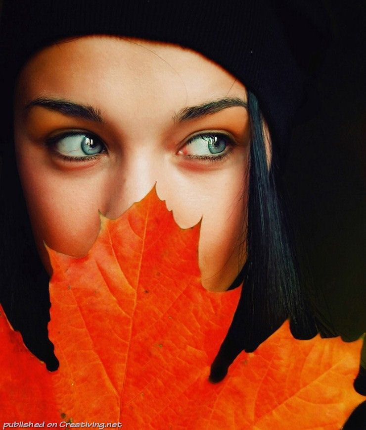 Осенний эротический фотосессия в парке — pic 10